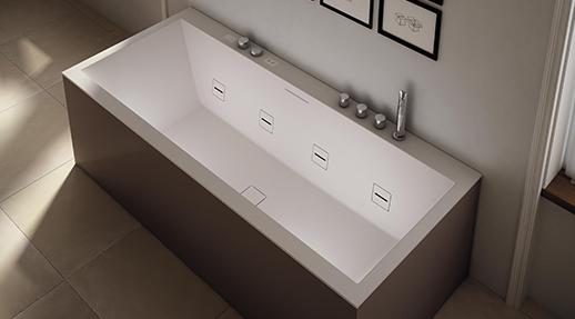 Vasca Da Bagno Incasso Teuco : Vasca da bagno da appoggio in composito idromassaggio paper