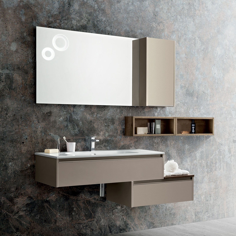 Mobili bagno arredamento ceni - Mobile bagno asimmetrico ...