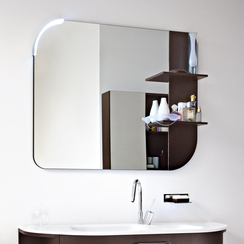 Specchiera Bagno Mensoline Legno Glamour : Specchi bagno arredamento ceni