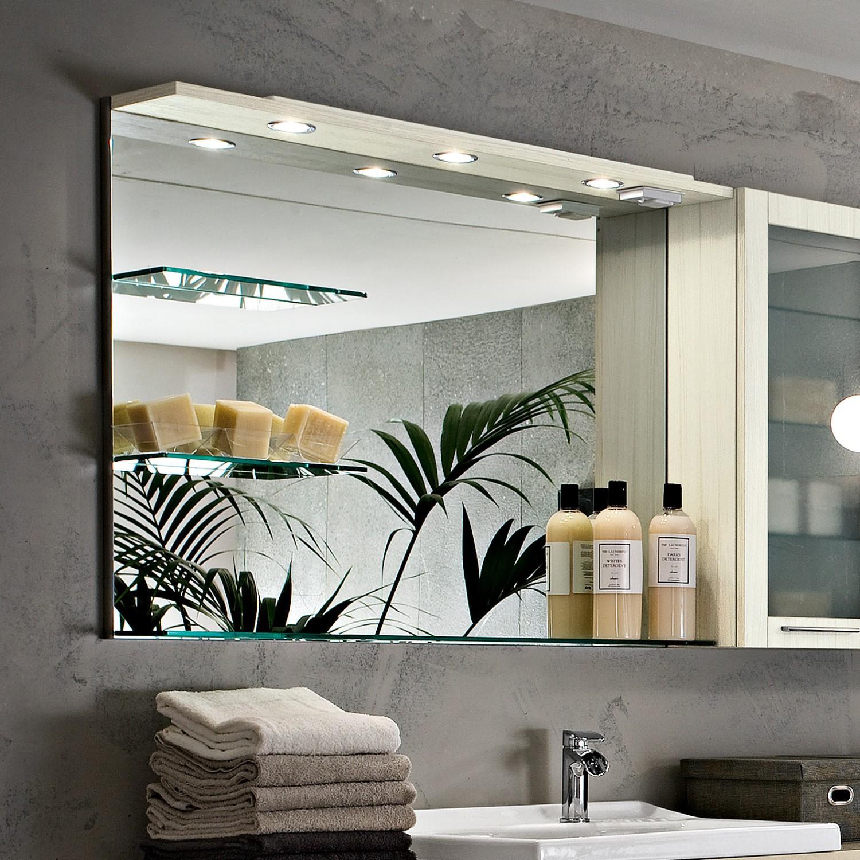 Specchio Bagno Con Faretti.Specchi Bagno Arredamento Ceni